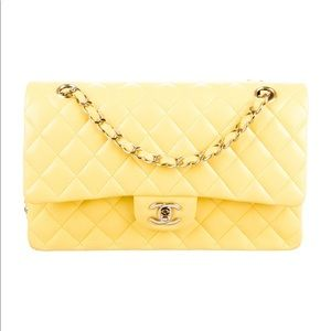 Chanel class yellow 100% authentic